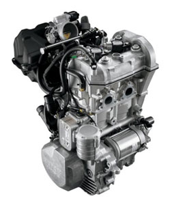 The Rotax 600ACE is a compact, highly efficient two-cylinder four-stroke intended to replace the 550 Fan engine.
