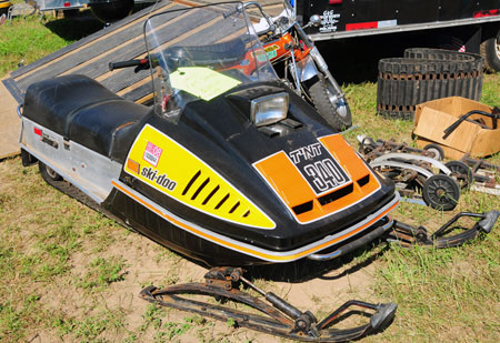 Ski-Doo built tens of thousands of T'NTs throughout the 1970s. T'NTs are good, T'NT Blizzards  and RVs are better.