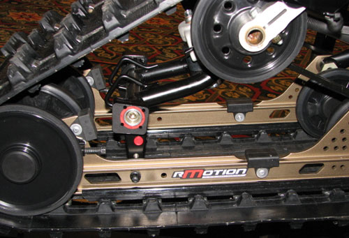 2012 Ski-Doo rMotion Rear Suspension Preview