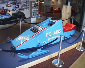 This twin-engined speed sled topped out at more than 109 miles per hour in 1970.