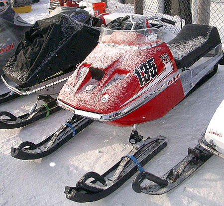 You'll find Rupp 'racers' at popular vintage racing events like the one in Eagle River, Wis.