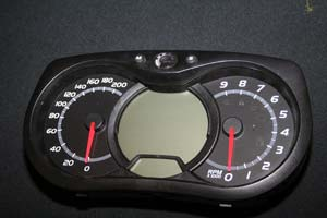 The new gauge pack features data acquisition capability so the racers can easily measure on track performance.