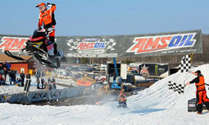 Ski-Doo's Tim Tremblay takes the Pro Open victory.