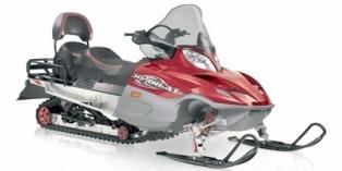 2008 Arctic Cat Bearcat® 660 Turbo WideTrack Straight Rail