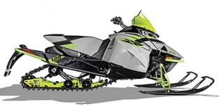 2018 Arctic Cat ZR 8000 Sno Pro ES 129 Early Release