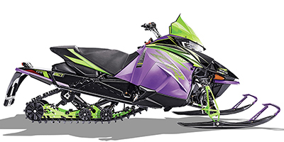 2019 Arctic Cat ZR 8000 Limited ES 129 iACT